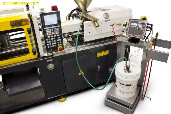 """重力计量式控制器可提高定量投加液体颜料的""""无溢漏/零浪费""""系统的精确性和经济性"""