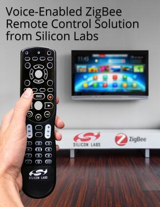 silicon labs降低语音使能zigbee遥控器的成本和复杂度