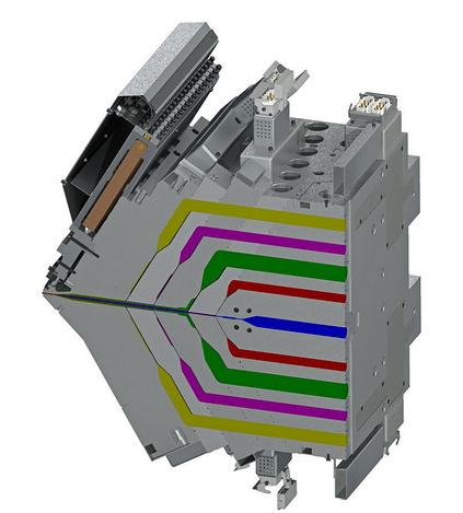 世界首台九流道挤出模头投入运行,能够生产多层薄膜,将各层的厚度偏差减少三分之二