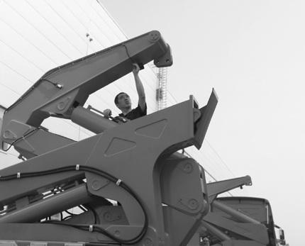 石煤机集装箱侧面装卸起重机产品国产化填补国内空白
