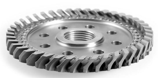 针对水下造粒机全新设计的多功能刀架和刀片有助于增加产能并强化颗粒输送功能