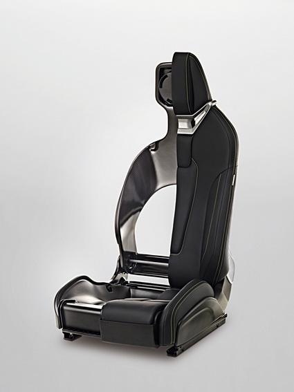 质量轻可定制化的赛车座椅平台