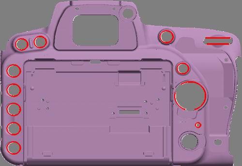 """其中有6路输入,1路输出信号与plc相连接,为相机提供拍照""""触发信号""""及"""""""