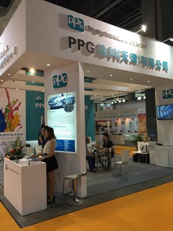 PPG工业亮相2015上海国际紧固件专业展