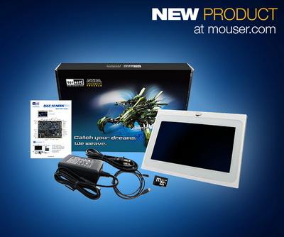 Mouser供货Terasic MAX 10 Nios II嵌入式评估板 全新NEEK更贴心的体验