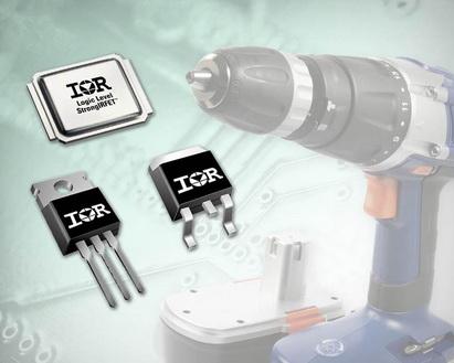 全新英飞凌功率MOSFET系列使电动工具更紧凑耐用