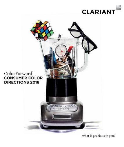 科莱恩ColorForward® 2018色彩趋势指南 反映消费者消沉情绪
