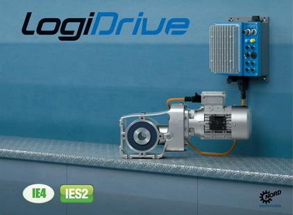 诺德推出用于内部物流的LogiDrive高效低维护驱动装置