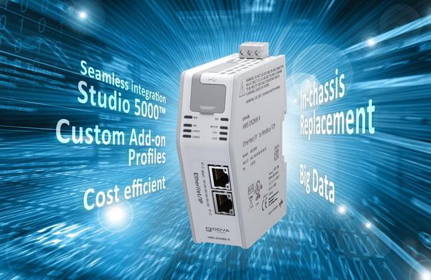 HMS的新型EtherNet/IP连接设备让罗克韦尔自动化PLCs与Modbus-TCP设备实现综合通信