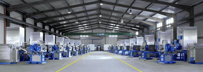 诺信将在中国一家新建的超大型PET工厂中安装16套节能结晶切®造粒系统