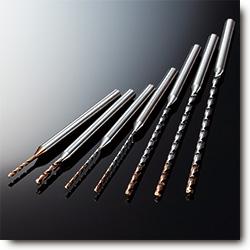 三菱日立刀具推出高效高精度加工1~2mm直径小孔的钻头