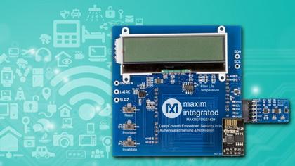 Maxim最新工业IoT参考设计加速安全认证数据链开发