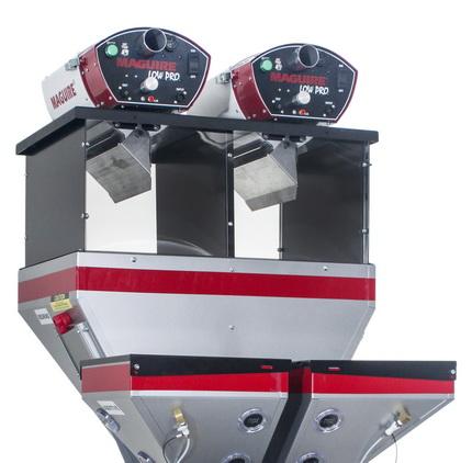 Maguire® LoPro™新概念真空上料系统的长度较之标准系统大幅缩短,并且操作和维护更为简单