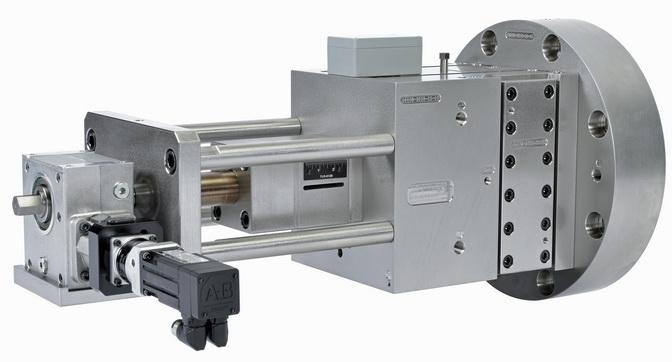 用于挤出涂布工艺的电动背压阀总成可自动调节背压以实现最佳处理效果