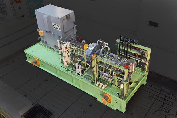 MAN压缩机技术用于中国海上天然气生产
